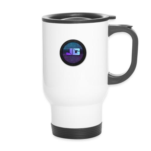 Pet met Logo - Thermosmok met draagring