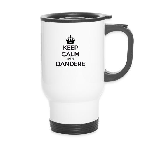 Dandere keep calm - Thermal mug with handle