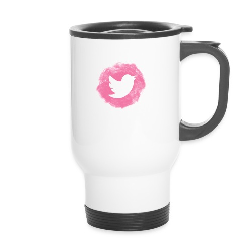 pink twitt - Thermal mug with handle