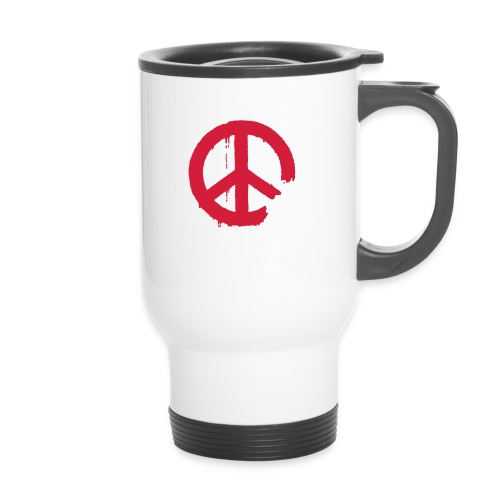 PEACE - Thermobecher mit Tragegriff