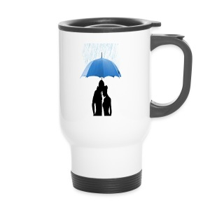 Love under the umbrella - Thermo mok
