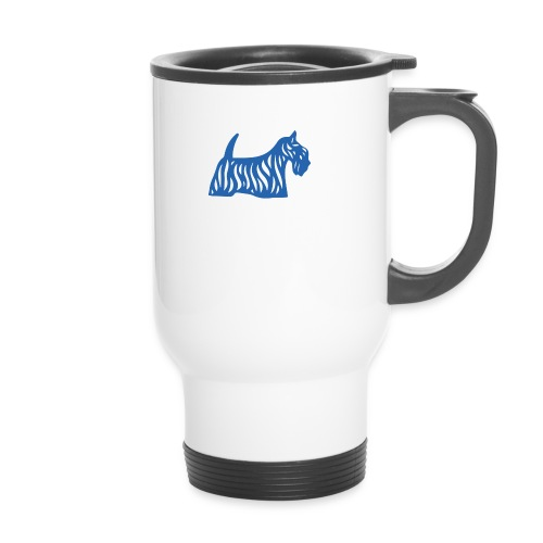 Founded in Scotland logo - Travel Mug