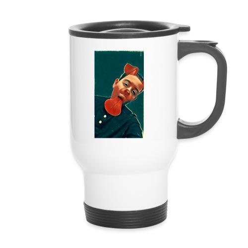 More MK21's Merch - Thermal mug with handle