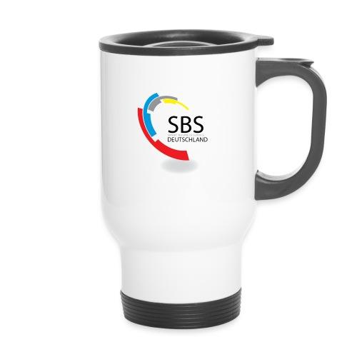 SBSDeutschland Logo - Thermobecher mit Tragegriff