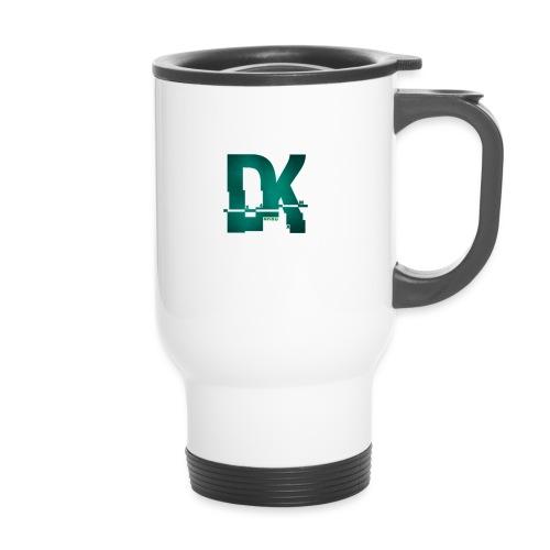 Dk hacked logo tshirt - Tasse isotherme avec poignée