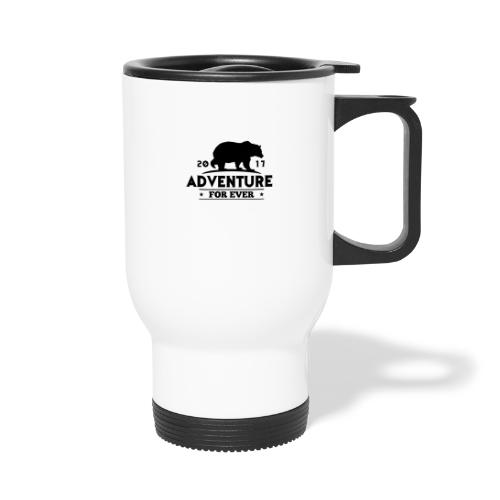 ADVENTURE FOR EVER - GRIZZLY - Tazza termica