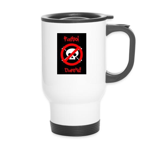 Fatboi Dares's logo - Travel Mug