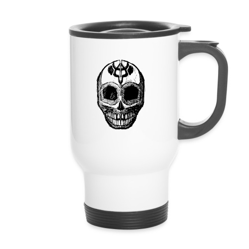 Skull of Discovery - Thermal mug with handle
