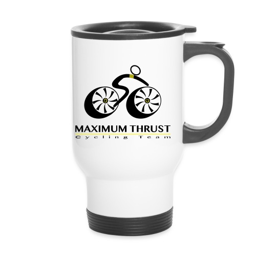MTCT Logo with Lettering Black - Travel Mug