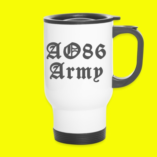 T Shirt Army grau png - Thermobecher mit Tragegriff