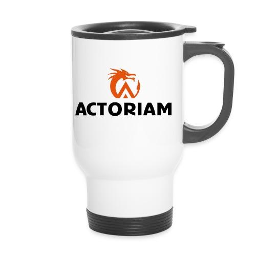 Actoriam Logo - Thermal mug with handle