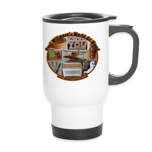 Large logo new - Thermal mug with handle