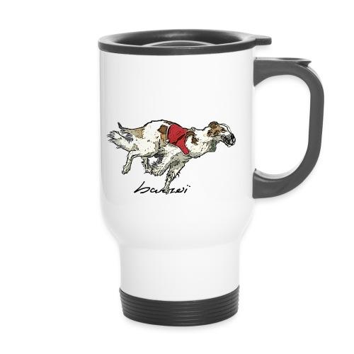 Barzoi coursing - Mug thermos