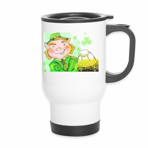 lenny the leprechaun - Travel Mug