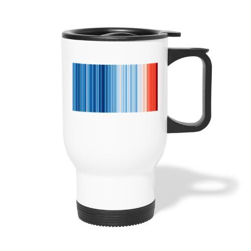 Klimawandel - Warming Stripes - Wärmestreifen - Thermobecher