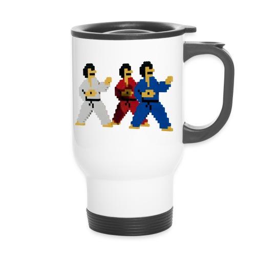 8 bit trip ninjas 1 - Travel Mug