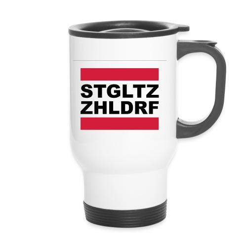STGLZ-ZHLNDRF - Thermobecher mit Tragegriff