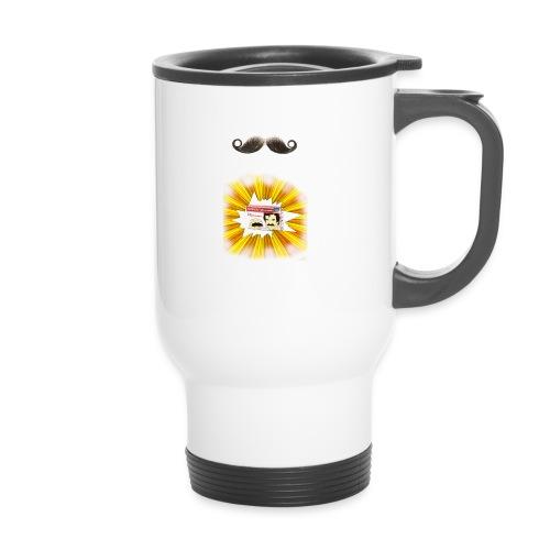 Moustache ad - Travel Mug