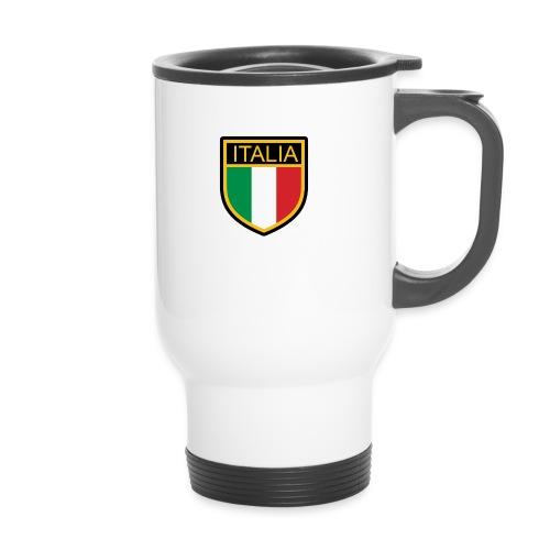 SCUDETTO ITALIA CALCIO - Tazza termica
