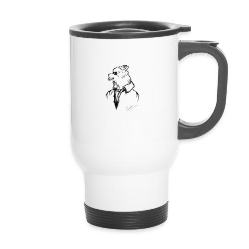 InkedThe Dog style bak LI - Taza termo