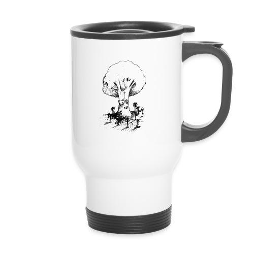 Sage Tree - Thermal mug with handle