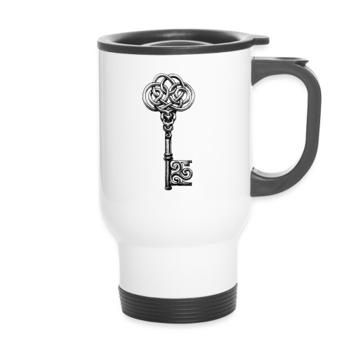 CHAVE-celtic-key-png - Taza termo