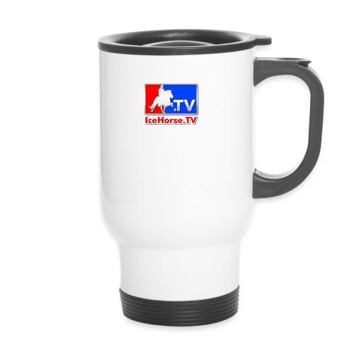 IceHorse logo - Travel Mug