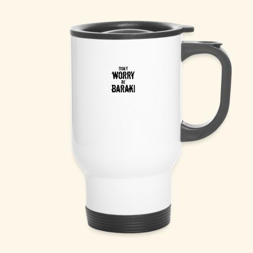 Be Baraki (Noir) - Tasse isotherme avec poignée