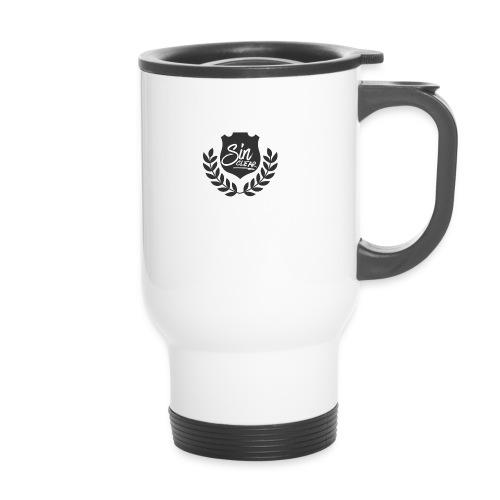 Sinclear Wappen Schwarz 🏴 - Thermobecher mit Tragegriff