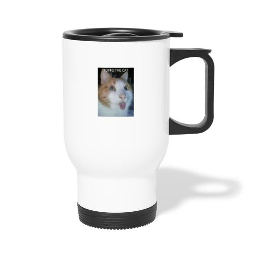 TOFFO THE CAT - Kahvallinen termosmuki