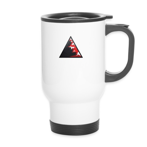 Climb high as a mountains to achieve high - Thermal mug with handle