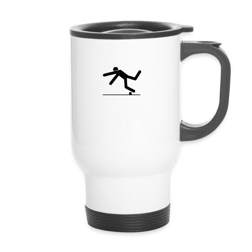 TripAndSmash Logo - Thermal mug with handle
