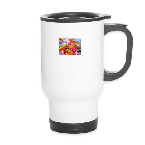 abstract 1 - Travel Mug