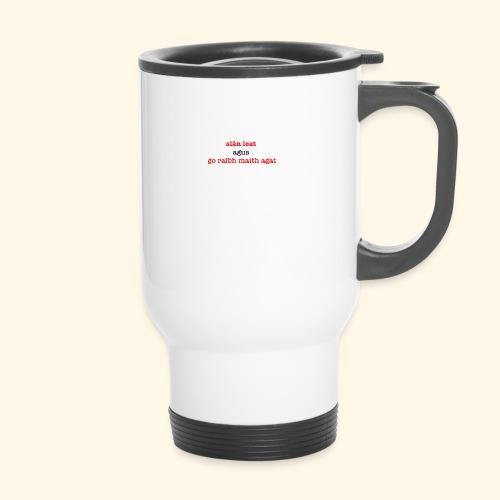 Good bye and thank you - Thermal mug with handle