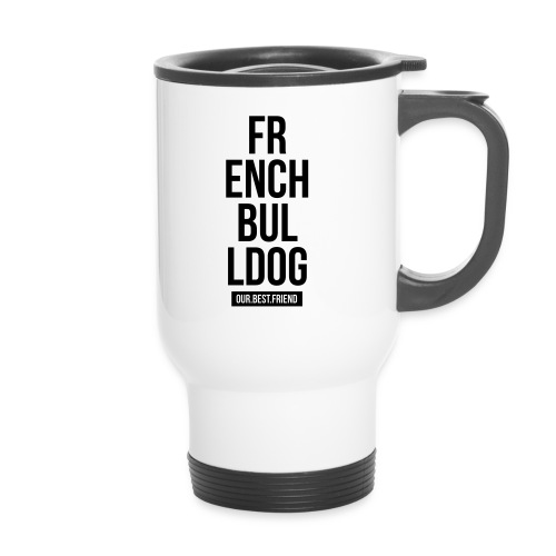 French Bulldog Script - Thermobecher