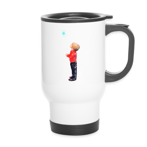 The Boy and the Blue - Travel Mug