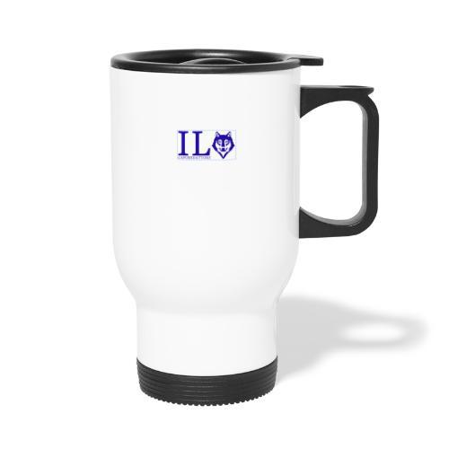 logo small - Tazza termica con manico per il trasporto