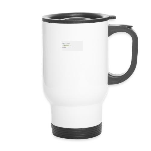code - Mug thermos