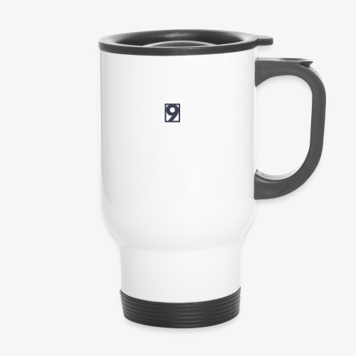 9 Clothing T SHIRT Logo - Thermal mug with handle