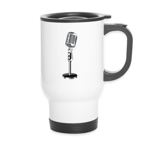 En mikrofon Flaske - Termokopp med håndtak