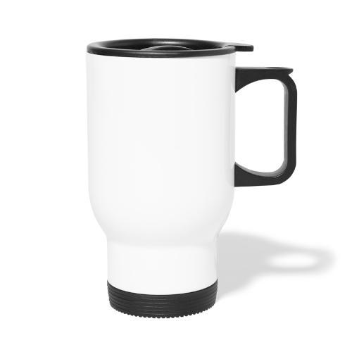 Taycanissimo logo white transparent - Thermosmok met draagring