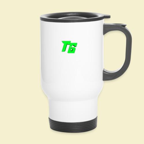 TristanGames logo merchandise - Thermosmok met draagring
