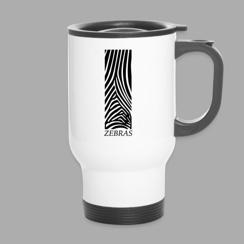 zebras - Travel Mug