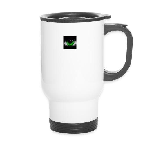Green eye - Travel Mug