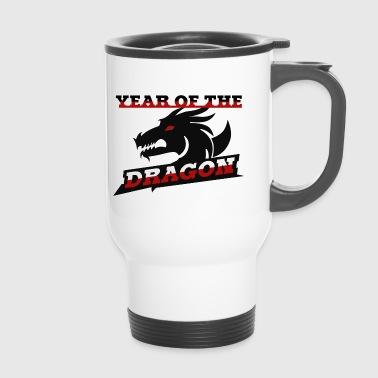Année du Dragon signes du zodiaque chinois - Mug thermos