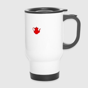 I love tea - tea time gift idea drink - Travel Mug