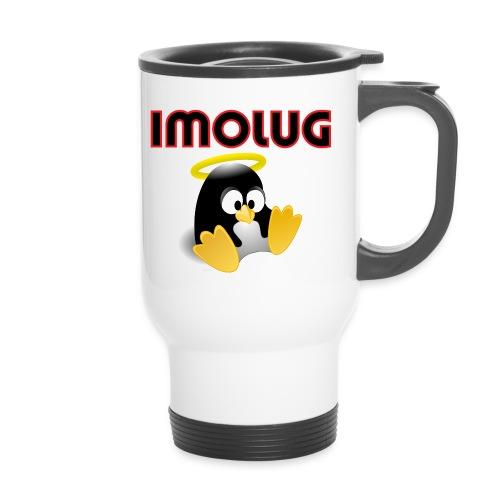 pinguino imolug - Tazza termica con manico per il trasporto