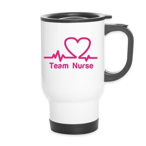 logo team nurse - Mug thermos