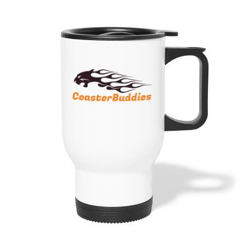 Coaster-Buddies Logo schwarz - Thermobecher