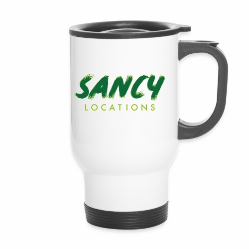 Logo Sancy Locations 2C Verts - Mug thermos